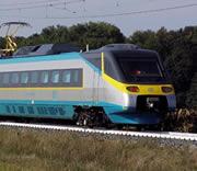Tjechische trein openbaar vervoer Praag Cosmetic-services