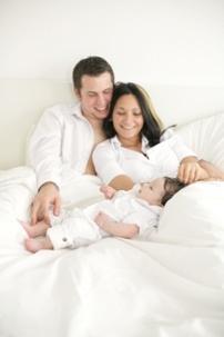 IVF gelukkig koppel