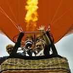 Luchtballon vaart